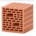 Пустотелый керамический блок PORIKAM 7