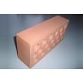 Кирпич керамический одинарный рядовой пустотелый светлый КОРПу-с 1НФ