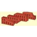 Кирпич керамический одинарный фигурный красный КОФРПу